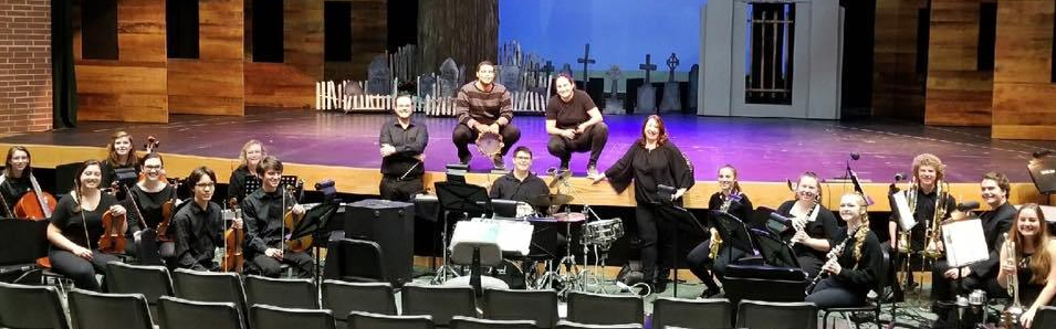 Pit Orchestra for CFHS Production of Addams Family 2018